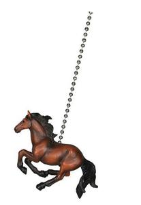 Rivers Edge Horse Western Cowboy Ceiling Fan Light Pull