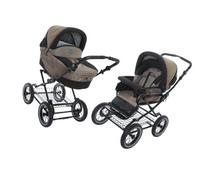 Roan Rocco Classic Pram Stroller 2-in-1 with Bassinet and
