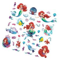 RoomMates RMK2347SCS The Little Mermaid Peel and Stick Wall