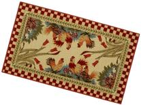 Anti-Bacterial Rubber Back Home and KITCHEN RUGS Non-Skid/