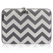 Runetz - 13-inch Chevron Gray Soft Sleeve Case for NEWEST
