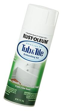 Rust-Oleum 280882 Specialty Tub and Tile Spray Paint, 12-
