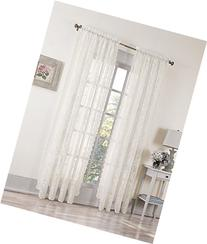 No. 918 Alison Sheer Lace Rod Pocket Curtain Panel, 58 x 84