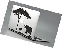 Safari Elephant - Sticker Decal Apple Macbook Pro Air Laptop