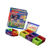 Sago Brothers 50 Pieces Magnetic Tiles, Strong Magnet with