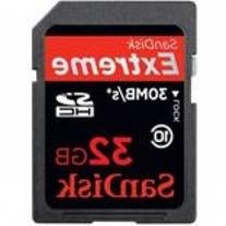 SanDisk Extreme - Flash memory card - 32 GB - Class 10 -SDHC