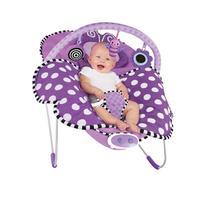 Sassy Cuddle Bug Bouncer, Violet Butterfly