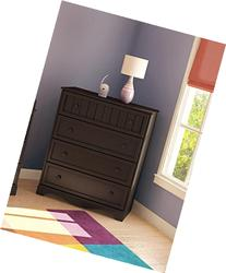 South Shore Savannah Collection Door Chest, Espresso