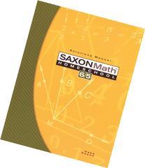 Saxon Math 6/5: Homeschool- Solutions Manual, 3rd Edition