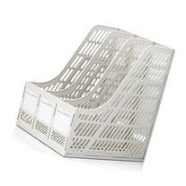 Sayeec Sturdy Desktop Triplicate Magazine Plastic Holders