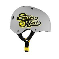Sector 9 Rally CPSC Bucket Helmet, Grey, Small/Medium
