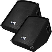 "Seismic Audio - SA-12MT  - Pro Audio PA/DJ 12"" Monitors -"