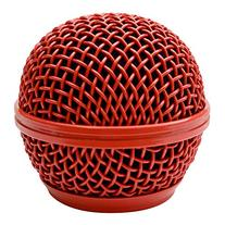 Seismic Audio SA-M30Grille-Red Replacement Red Steel Mesh