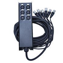Seismic Audio SACB-6x25 6-Channel Low Profile XLR Send Sub