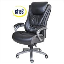 Serta - Big & Tall Smart Layers Leather Executive Chair -