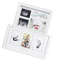 Love At First Sight Sonogram Frame & Newborn Babyprints