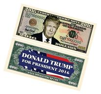 Set of 100 - Donald Trump 2016 Presidential Dollar Bill