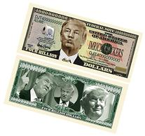 Set of 5 - Donald Trump Dump Trump Four Billion Dollar Bill
