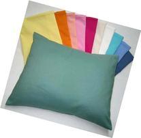 SheetWorld - Baby Pillow Case - Percale Pillow Case - Light