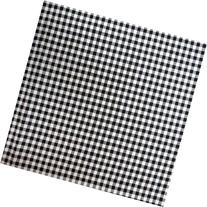 SheetWorld Fitted Square Playard Sheet 37.5 x 37.5  - Black