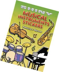 Shiny Musical Instruments Stickers