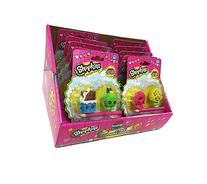 Shopkins Mega Pack 2-Pack Toy Puzzle Erasers Full Box of 12