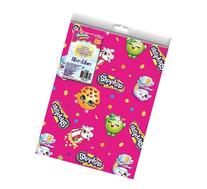 Shopkins - Pink Gift Wrap Folded- 9x13 - BRAND NEW