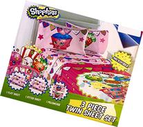 Shopkins Twin Sheets Set