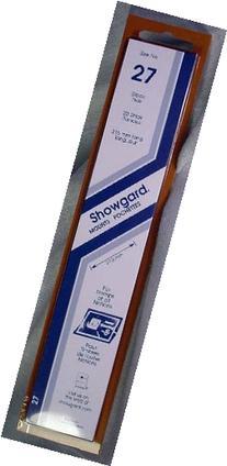 Showgard Strip Style Black Stamp Mounts Size 27