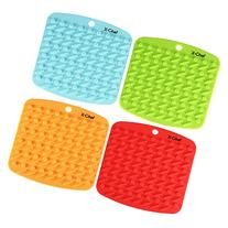 Silicone Kitchen Trivet, X-Chef Hot Pads Pot Holders