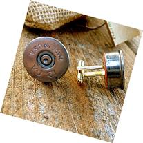 Silver Shotgun Shell Cuff Links