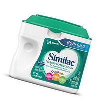 Similac For Supplementation Non-GMO Infant Formula with Iron