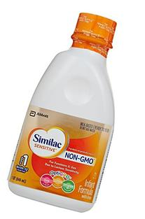 Similac Sensitive Non-GMO Baby Formula - Ready to Feed - 32