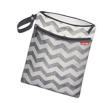 Skip Hop Grab and Go Wet-Dry Bag, Chevron