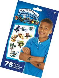 Skylanders Giants Swap Force Temporary Tattoos 75 ct
