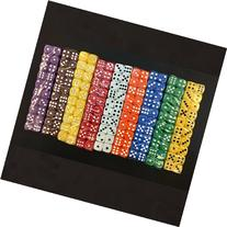 SmartDealsPro 50-Pack D6 Six Sided 12mm Opaque Dice Die-