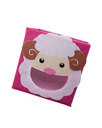 Smiling Sheep Collapsible Toy Storage Box and Closet