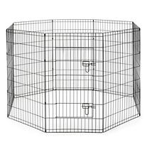 SmithBuilt Crates Dog Playpen Folding Yard with Door and
