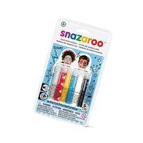 Snazaroo Adventure Face Paint Sticks - set of 6