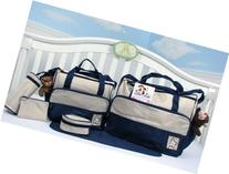 SoHo Diaper bag with changing pad 8 pieces set