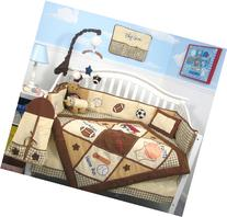 SoHo Let's Play Game Baby Crib Nursery Bedding Set 13 pcs