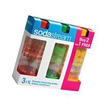 SodaStream 1041300010 2-count Carbonating Bottles with Bonus