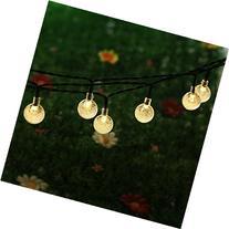 Solar Globe String Lights,Addlon LED Solar Fairy Lights,20ft