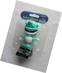 Solar Power Dancing Shark - Teal by Momentum Brands