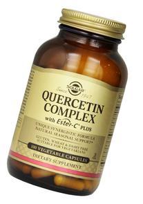 Solgar Quercetin Complex with Ester-C® Plus, Unique