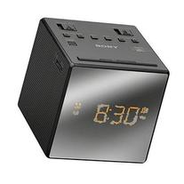 Sony Compact AM/FM Alarm Clock Radio with Large Easy to Read