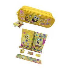 SpongeBob Squar Pants Combo Stationary Set + Pencil Pouch