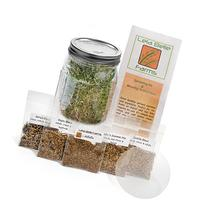 Sprout Life Country Mix Sprouter & Sprouting Kit with 5
