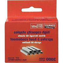 Staples® High-Capacity Staples, 3/8
