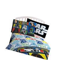 "Star Wars Classic 'Grid 2' Black/White/Blue 20"" x 30"""